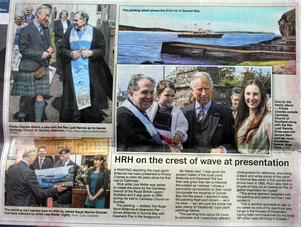 Caithness Courier Article
