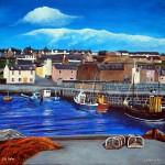 Gourdon Harbour Original Painting