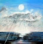 Rays Seascape Original Painting