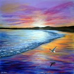 Reflections Seascape Painting