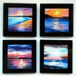 Haven House Art Coasters