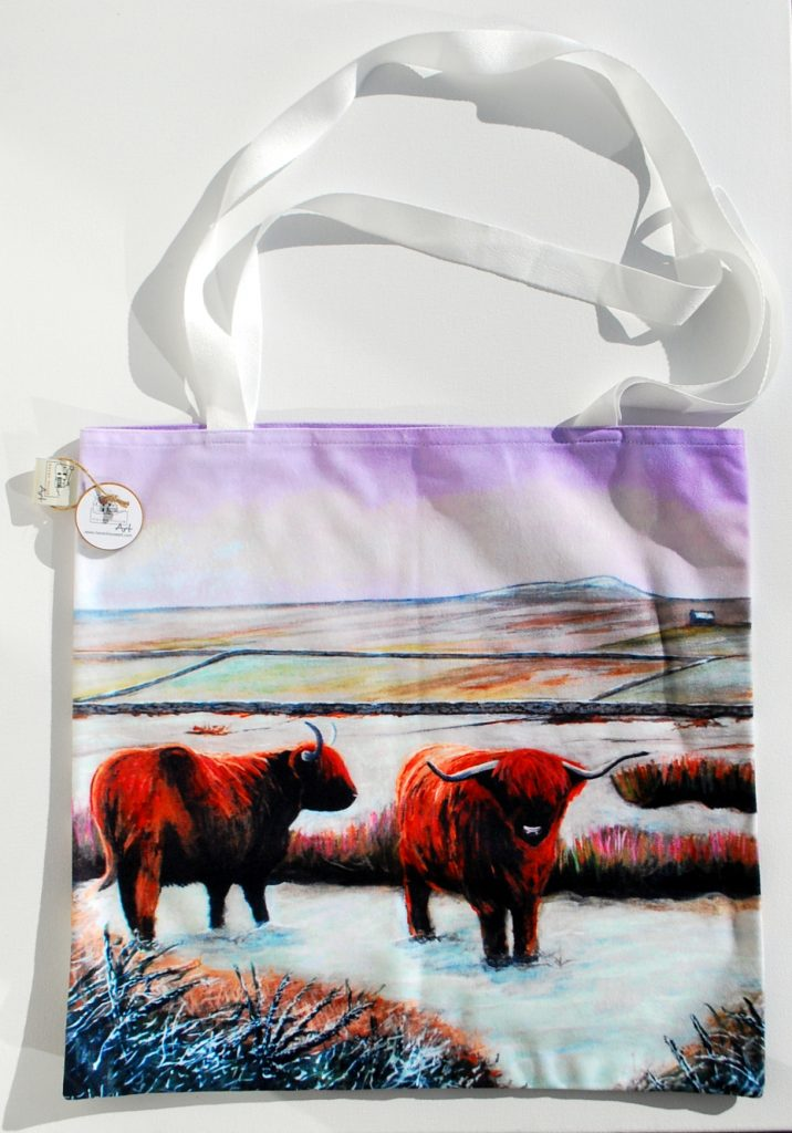 A Highland Cow Tote Bag