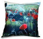 Poppy Painting Cushion