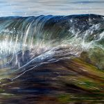 Simply Being Wave Painting
